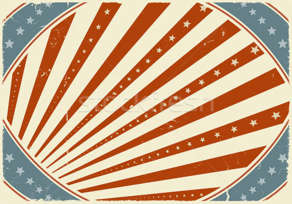 Fourth Of July Holidays Poster Background Stock photo © benchart