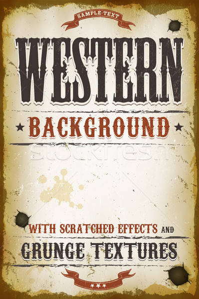 Vintage Western Background Stock photo © benchart