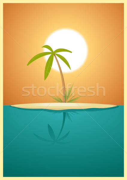 Paradise Island Stock photo © benchart