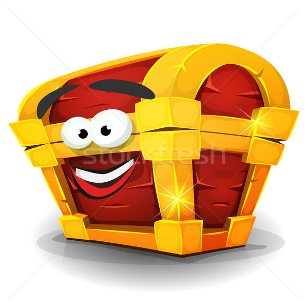 Ilustração desenho animado feliz sorridente Foto stock © benchart