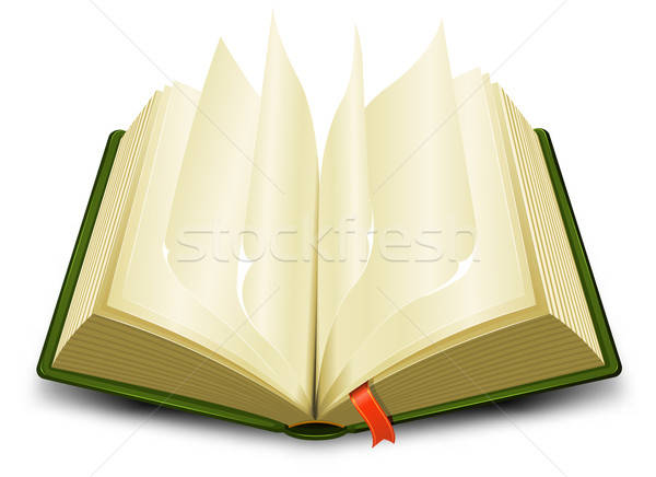 Bookmark And Flipping Pages Stock photo © benchart
