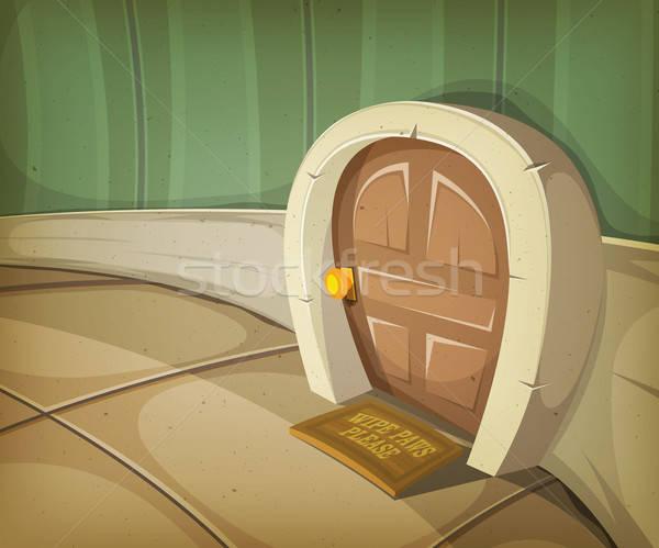 Mouse Home Inside House Stock photo © benchart