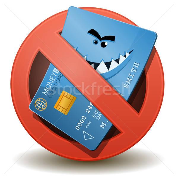 Credit Card Not Allowed Stock photo © benchart