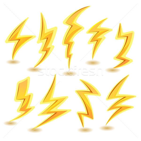 闪电 商业照片和矢量图