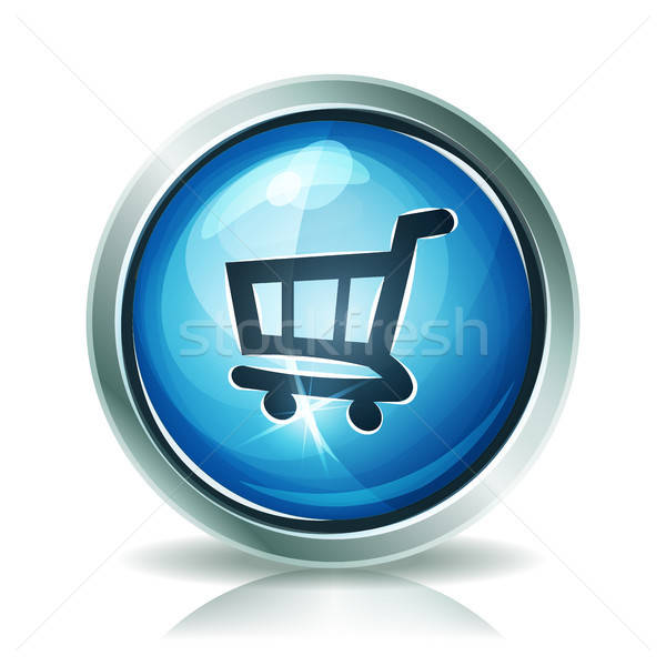 Shopping Cart Icon Stock photo © benchart