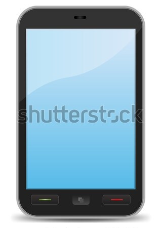 Basic Elegant Smartphone Stock photo © benchart