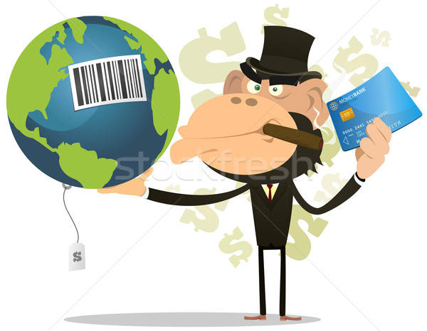 Selling And Buying Earth Stock photo © benchart