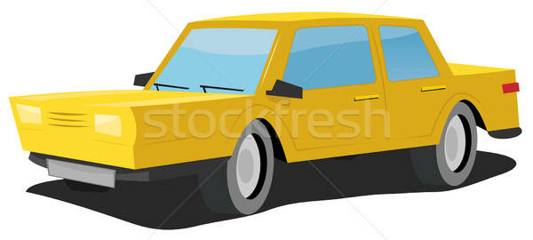Cartoon Car Stock photo © benchart