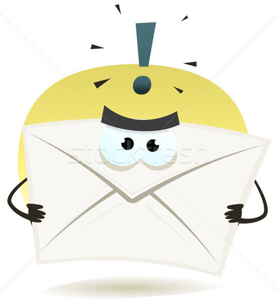 Angry Email Icon Stock photo © benchart