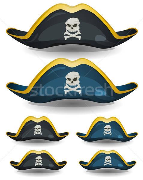 Pirate Hat Set Stock photo © benchart