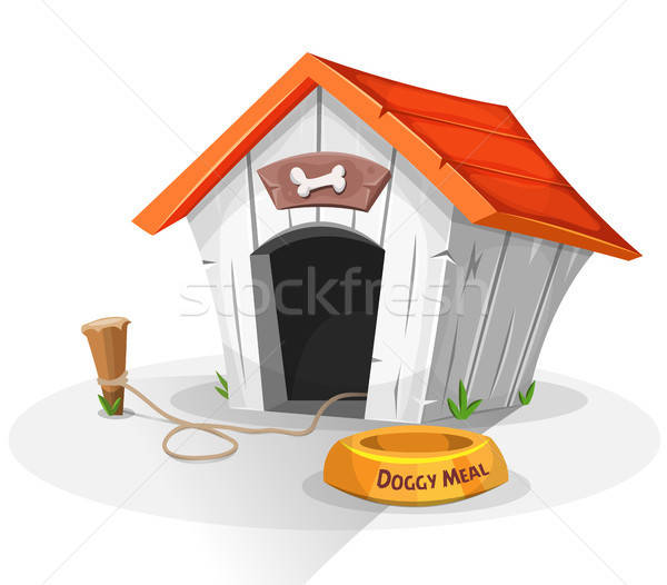 Dog House Stock photo © benchart