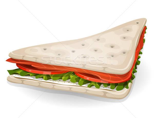 Swedish Sandwich Icon Stock photo © benchart