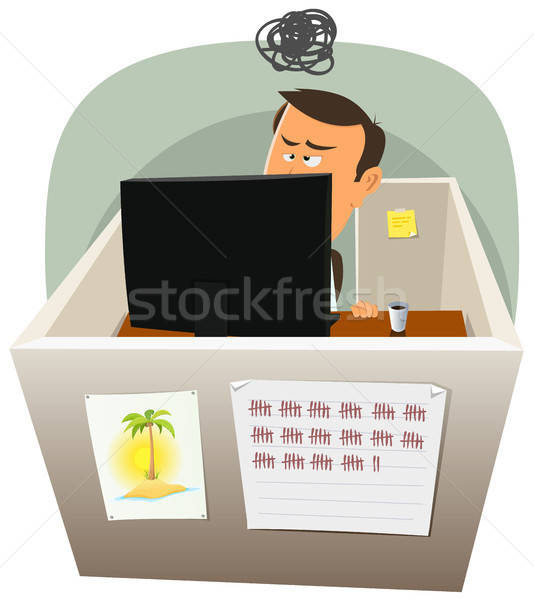 Life In The Cube Stock photo © benchart