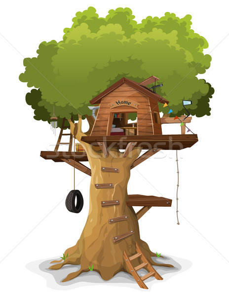 Tree House Stock photo © benchart