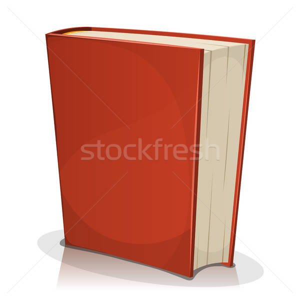 Rojo aislado blanco ilustración Cartoon Foto stock © benchart