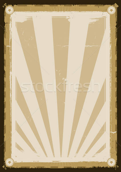 Cool Vintage Background Poster Stock photo © benchart