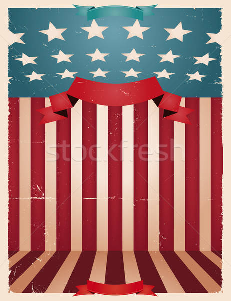 Fourth Of July - American background Stock photo © benchart
