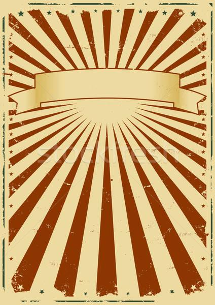 Grunge Sunbeams Background Stock photo © benchart