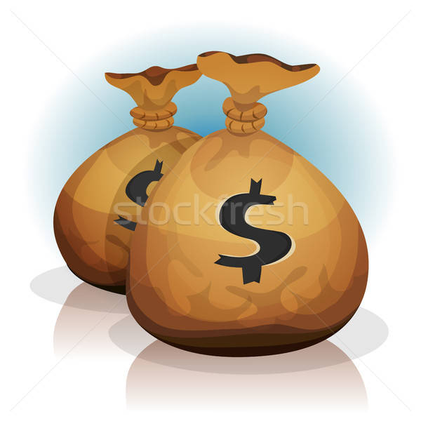 Dollar Bags Stock photo © benchart