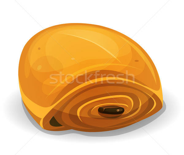 French Chocolate Bread Icon Stock photo © benchart