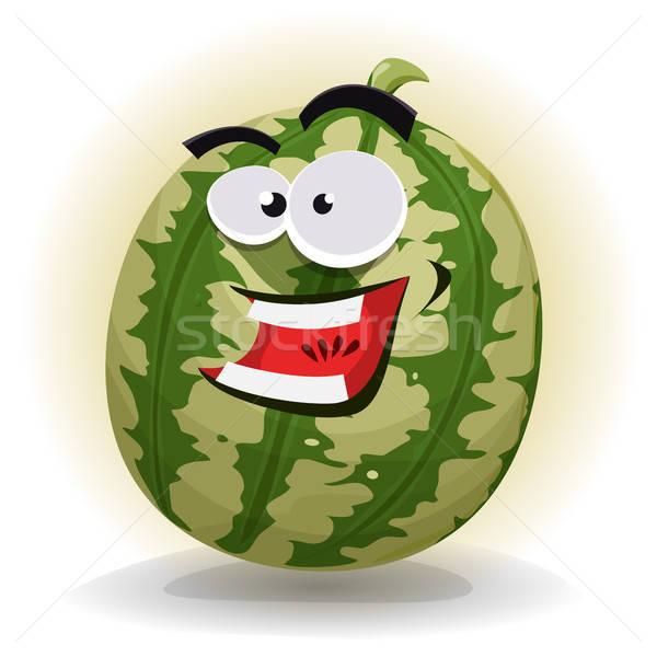 Watermelon Character Stock photo © benchart