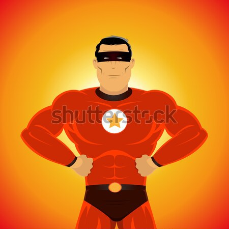 Comic Power Superhero Stock photo © benchart