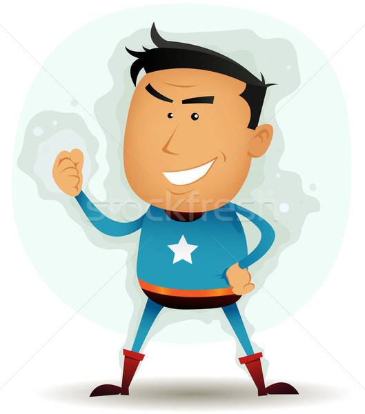 Comic Superhero Character Stock photo © benchart