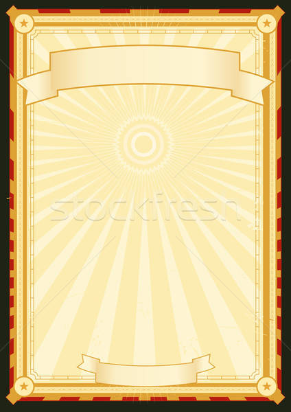ロイヤル 宮殿 メニュー ポスター 実例 グランジ ストックフォト © benchart