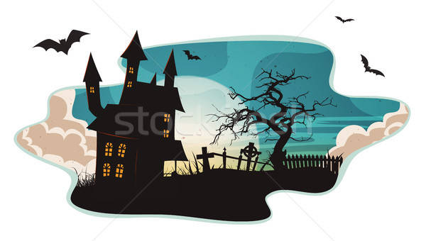 Halloween Background Stock photo © benchart