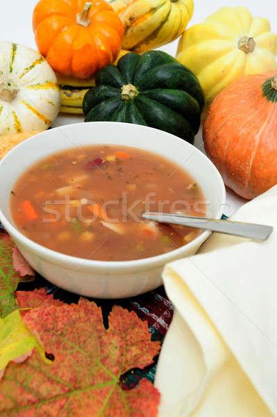 Veggie Soup Stock photo © bendicks