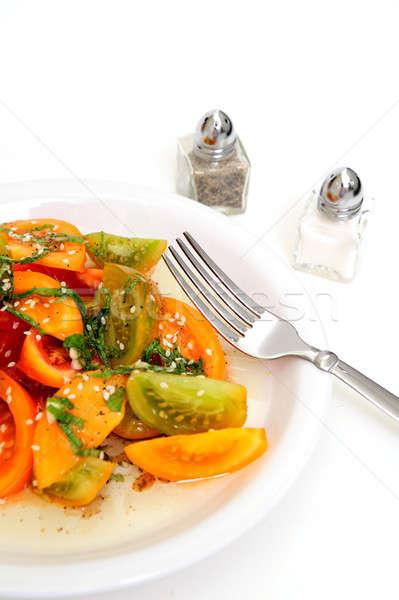 Tomato Salad Stock photo © bendicks