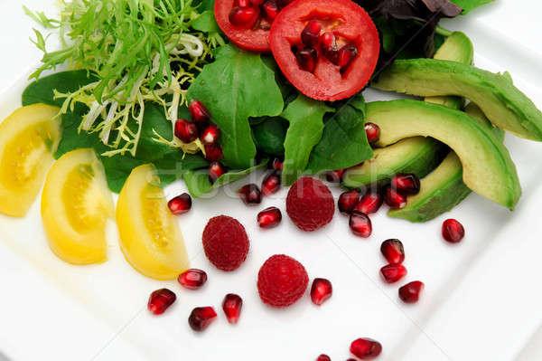 Vegetable And Fruit Salad Stock photo © bendicks