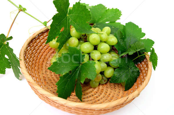 Green Seedless Grapes Stock photo © bendicks