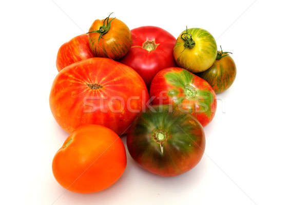 Colorful Tomatoes Stock photo © bendicks