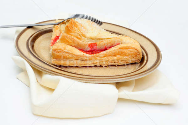 Cherry Turnover Side View Stock photo © bendicks