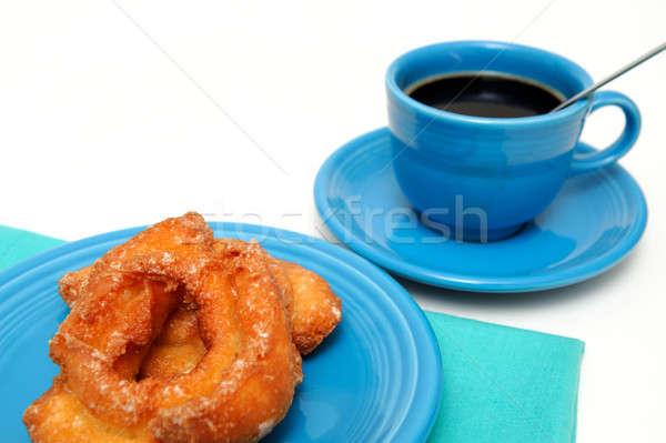 Buttermilk Donut And Coffee Stock photo © bendicks
