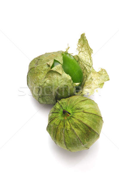Tomatillo With Husk Stock photo © bendicks