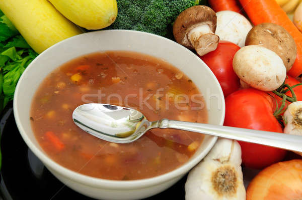 Vegetable Soup Stock photo © bendicks