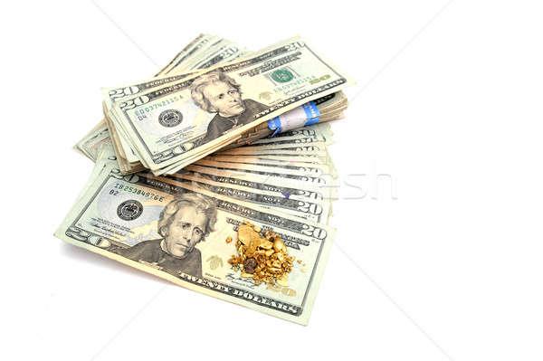 Gold And Money Stock photo © bendicks