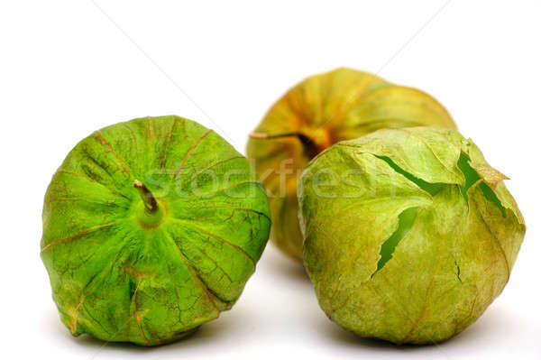 Tomatillo For Salsa Verde Stock photo © bendicks