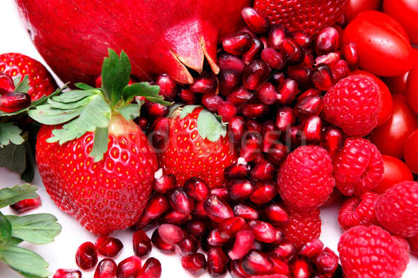 Bright Red Fruit Stock photo © bendicks