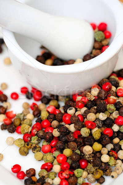 Spicy Rainbow Peppercorns Stock photo © bendicks