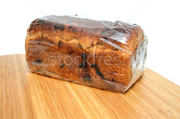 Raisin Cinnamon Bread Loaf Stock photo © bendicks