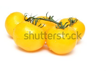 Yellow Heirloom Tomatoes Stock photo © bendicks