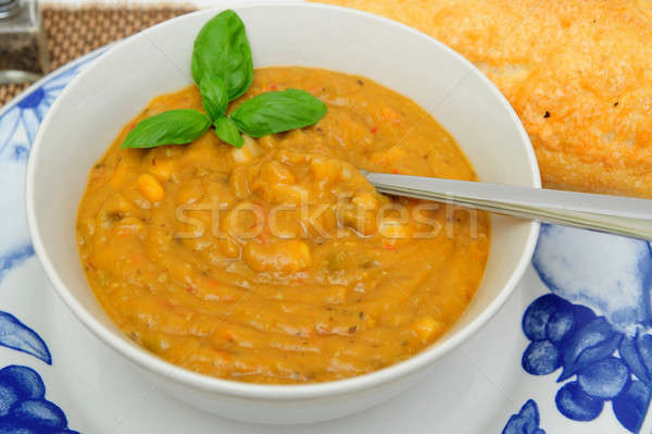 Creamy Vegetable Soup Stock photo © bendicks