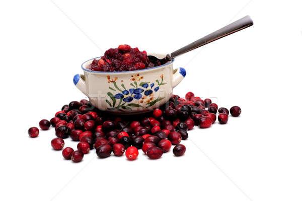Cranberry Sauce And Berries Stock photo © bendicks