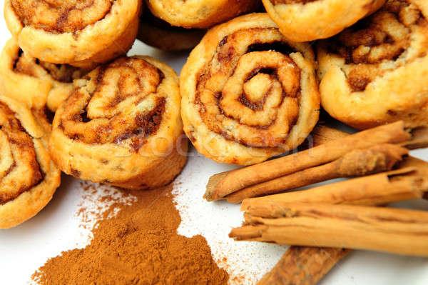Cinnamon And Rolls Stock photo © bendicks