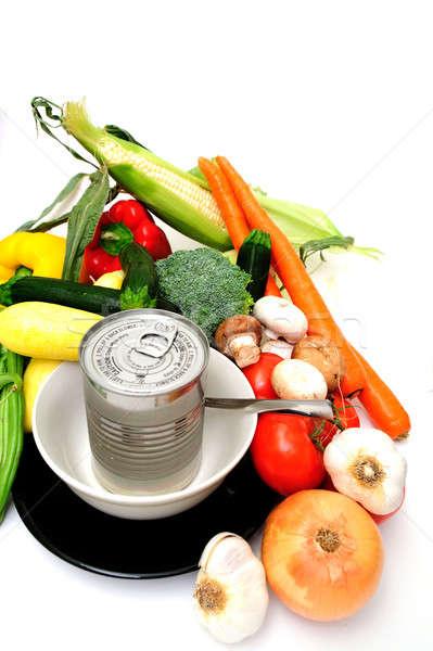Fresh Or Canned Stock photo © bendicks