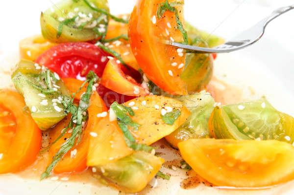 Heirloom Tomato Salad Stock photo © bendicks