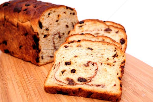 Raisin Cinnamon Bread Stock photo © bendicks